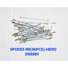 SPOKES RR (36PCS)-HERO -D02680